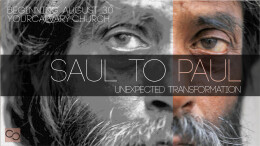 Saul to Paul - Week 3